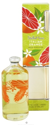 DROPPED: Stella Mare - Reed Diffuser Italian Orange - 4 oz.