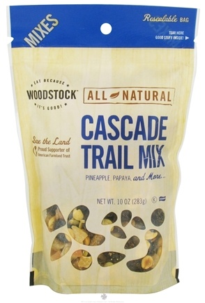 DROPPED: Woodstock Farms - All-Natural Cascade Trail Mix - 10 oz. CLEARANCE PRICED