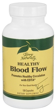DROPPED: EuroPharma - Terry Naturally Healthy Blood Flow - 120 Capsules CLEARANCE PRICED