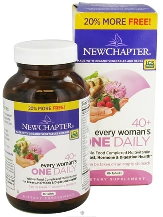 DROPPED: New Chapter - Every Woman's One Daily 40+ - 86 Tablets