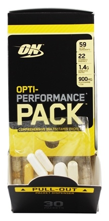 Optimum Nutrition - Opti-Performance Pack High-Potency MultiVitamins - 30 Packet(s)