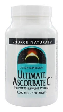 Source Naturals - Ultimate Ascorbate C 1000 mg. - 100 Tablets