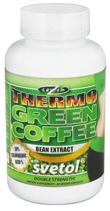 DROPPED: Lazer Health - Thermo Green Coffee Bean Extract with Svetol - 60 Vegetarian Capsules Formerly Core Health CLEARANCE PRICED