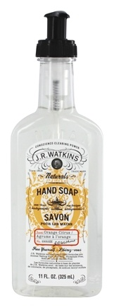 JR Watkins - Natural Home Care Hand Soap Orange Citrus - 11 oz.
