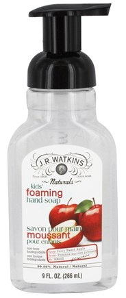DROPPED: JR Watkins - Natural Home Care Kids Foaming Hand Soap Juicy Sweet Apple - 9 oz.