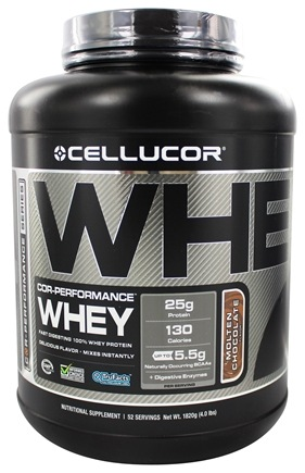 DROPPED: Cellucor - Cor-Performance Series Whey Molten Chocolate - 4 lbs.