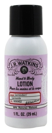 JR Watkins - Naturals Apothecary Hand & Body Lotion Travel Size Lavender - 1 oz.