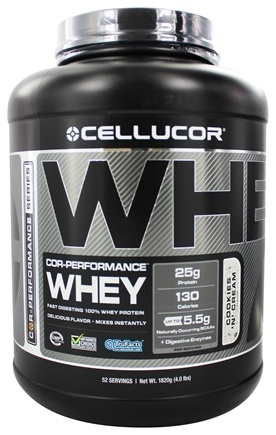 DROPPED: Cellucor - Cor-Performance Series Whey Cookies 'N' Cream - 4 lbs.