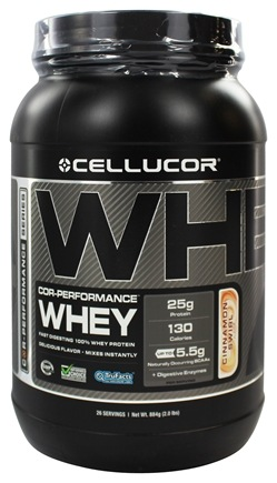 DROPPED: Cellucor - Cor-Performance Series Whey Cinnamon Swirl - 2 lbs.