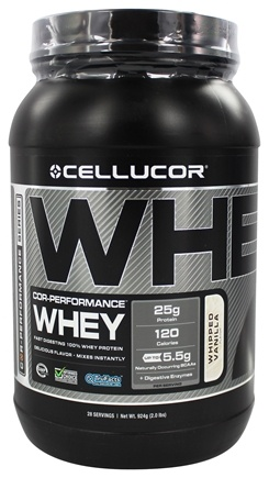 DROPPED: Cellucor - Cor-Performance Series Whey Whipped Vanilla - 2 lbs.