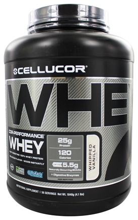 DROPPED: Cellucor - Cor-Performance Series Whey Whipped Vanilla - 4 lbs.