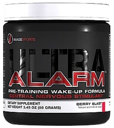 DROPPED: Image Sports - Alarm Ultra Pre-Training Wake-Up Formula Berry Blast - 98 Grams