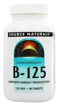 Source Naturals - B-125 - 90 Tablets