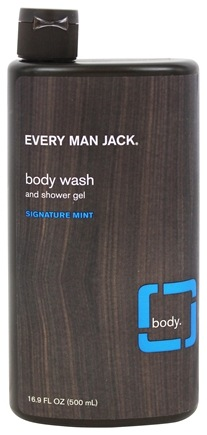 Every Man Jack - Body Wash and Shower Gel Signature Mint - 16.9 oz.