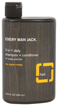 Every Man Jack - 2-in-1 Daily Shampoo + Conditioner Citrus - 13.5 oz.