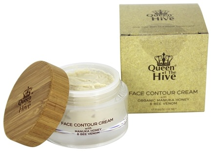 DROPPED: Wedderspoon Organic - Queen of The Hive Face Contour Cream with Manuka Honey & Bee Venom - 1.7 oz. The Hive Face Contour Mask with Manuka Honey & Bee Venom