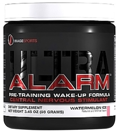 DROPPED: Image Sports - Alarm Ultra Pre-Training Wake-Up Formula Watermelon Ice - 98 Grams
