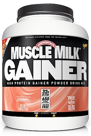 DROPPED: Cytosport - Muscle Milk Genuine High Protein Gainer Powder Drink Mix Strawberry - 5 lbs.