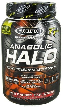 DROPPED: Muscletech Products - Anabolic Halo Hardcore Pro Series Wild Cherry Explosion - 2.4 lbs.