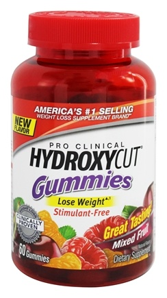DROPPED: Muscletech Products - Hydroxycut Gummies Pro Clinical Mixed Fruit - 60 Gummies