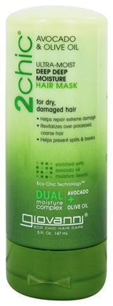 Giovanni - 2Chic Avocado & Olive Oil Ultra-Moist Deep Deep Moisture Hair Mask - 5 oz.