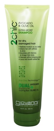 Giovanni - 2Chic Avocado & Olive Oil Ultra-Moist Shampoo - 8.5 oz.