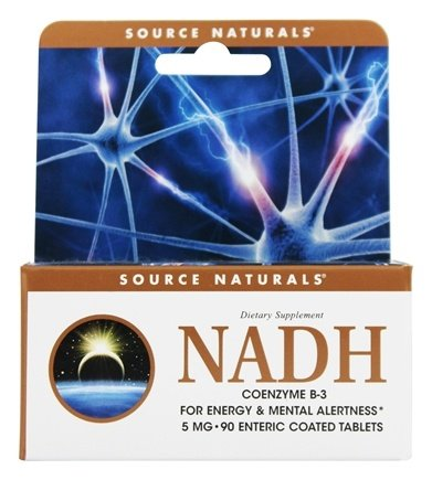 Source Naturals - NADH 5 mg. - 90 Enteric-Coated Tablets
