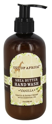 DROPPED: Out Of Africa - Shea Butter Hand Wash Vanilla - 8 oz.
