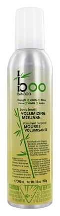Boo Bamboo - Body Boost Volumizing Mousse - 10 oz.