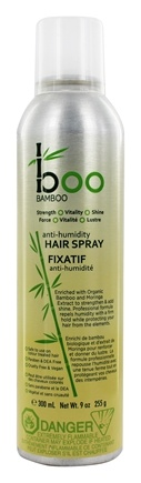 Boo Bamboo - Anti-Humidity Hair Spray - 9 oz.