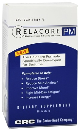 Carter Reed Company - Relacore PM - 96 Tablets