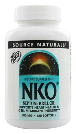 Source Naturals - NKO Neptune Krill Oil 500 mg. - 120 Softgels