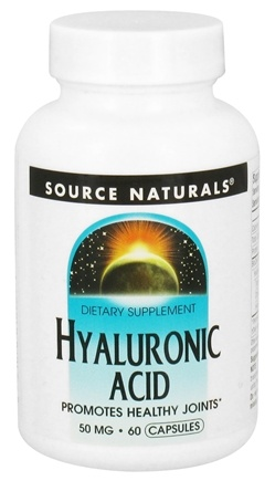 DROPPED: Source Naturals - Hyaluronic Acid 50 mg. - 60 Capsules