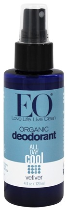 EO Products - Deodorant Organic Spray Vetiver - 4 oz.