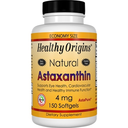Healthy Origins - Astaxanthin 4 mg. - 150 Softgels