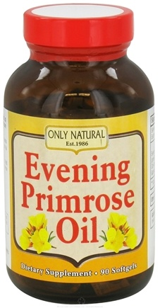 DROPPED: Only Natural - Evening Primrose Oil 1000 mg. - 90 Softgels CLEARANCE PRICED