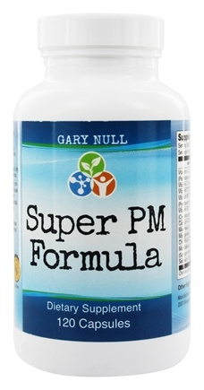 DROPPED: Gary Null's - Super PM Formula - 120 Capsules