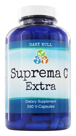 Gary Null's - Advanced All Natural Suprema C Concentrate - 240 Vegetarian Capsules