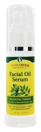 Organix South - TheraNeem Naturals Facial Oil Serum Balancing Therape for Oily Skin - 1 oz.