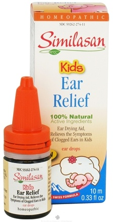DROPPED: Similasan - Kids Ear Relief Ear Drops - 10 ml. CLEARANCE PRICED