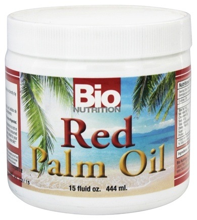 DROPPED: Bio Nutrition - Red Palm Oil - 15 oz.