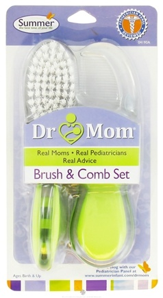 DROPPED: Summer Infant - Dr. Mom Brush and Comb Set - CLEARANCE PRICED