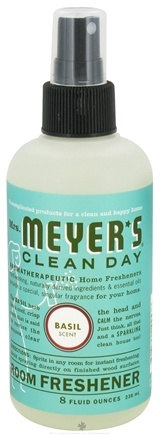 DROPPED: Mrs. Meyer's - Clean Day Room Freshener Basil - 8 oz.