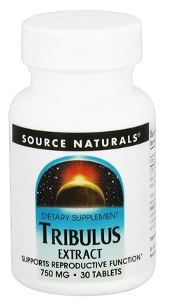DROPPED: Source Naturals - Tribulus Extract 750 mg. - 30 Tablets CLEARANCE PRICED