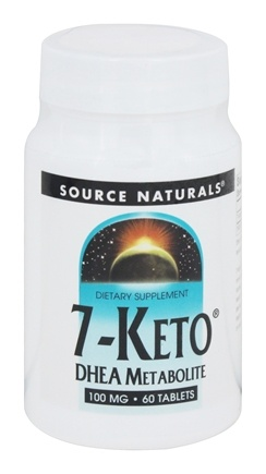 Source Naturals - 7-Keto DHEA Metabolite 100 mg. - 60 Tablets