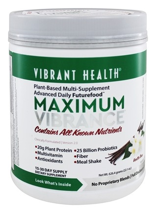 Vibrant Health - Maximum Vibrance - 24.81 oz.