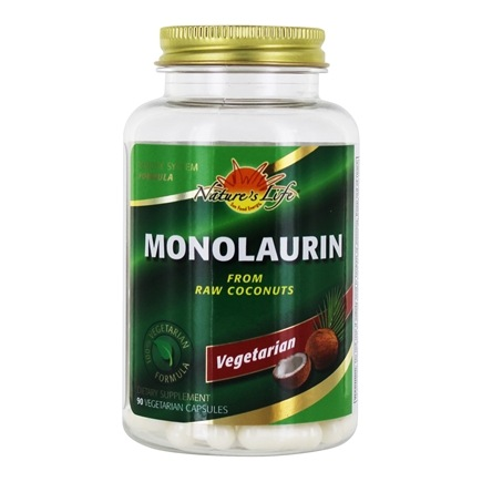 Health From The Sun - Monolaurin 1100 mg. - 90 Vegetarian Capsules