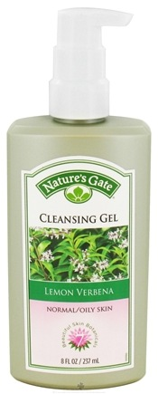 Nature's Gate - Cleansing Gel For Normal To Oily Skin Lemon Verbena - 8 oz.