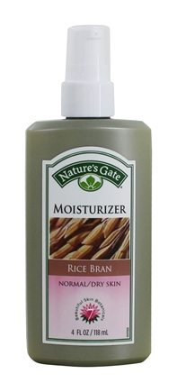 Nature's Gate - Moisturizer For Normal To Dry Skin Rice Bran - 4 oz.