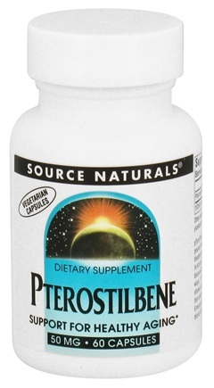 DROPPED: Source Naturals - Pterostilbene 50 mg. - 60 Vegetarian Capsules